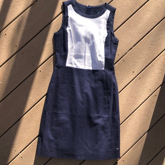 tommy hilfiger linen dress